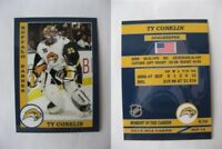 2015 SCA Ty Conklin Buffalo Sabres goalie never issued produced #d/10
