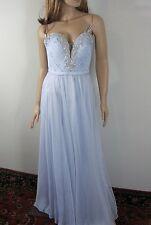 La Femme Crystal Embellished Gown Dress Size 4 NWT
