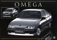 Opel Omega Optisches Tuning Prospekt 1986 11/86 Autoprospekt brochure prospectus