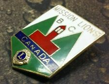 Mission Lions Club British Columbia Canada pin badge