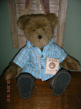 """Boyds Bears Plush 2007 ~14"""" Kellan Labrewin~ Out Of The Blue Cafe Family"""