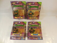 SET OF 4 SEALED TEENAGE MUTANT NINJA TURTLES CLASSICS COLLECTION ACTION FIGURES