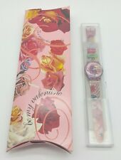 GR127 Swatch 1995 For Your Heart Only Valentine Special Authentic