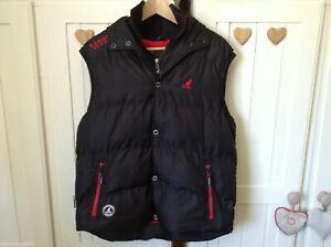 Great Mens Hooded Bodywarmer From Kangol Size M
