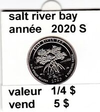 e 4 ) salt river bay  2020 S  voir description