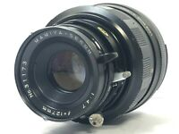 [Exc+5] Mamiya Sekor P 127mm f/4.7 Lens for Universal Press Super 23 from JAPAN