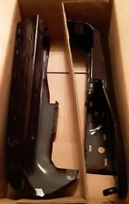 Ford F-150 rear brown bumpers w/ sensor holes right/left FL3Z17906BCP NOS OEM