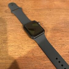 Apple Watch Series 3 (GPS) 38mm - Space Gray Aluminum with Black Band