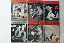 6x Photo Guide Prisma, 1950-1952, 6x 48 pages