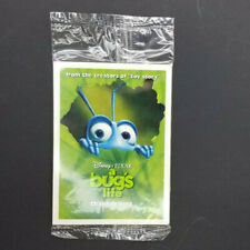 McDonalds 1998 Disney Pixar A Bug's Life Collector Trading Card Pack of 4 NIP