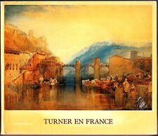 Turner en France (1981 Paperback Catalogue) Centre Culturel du Marais (good)
