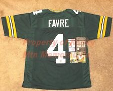 Green Bay Packers BRETT FAVRE Auto Authentic Style Home Green Jersey ***SALE***