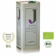 Jordan Bio-Olivenöl, nativ extra 5,0 Liter Insel Lesbos Griechenland