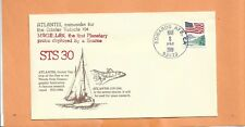 SHUTTLE ATLANTIS STS-30 MAGELLAN MAY 8,1989 EAFB  SPACE COVER