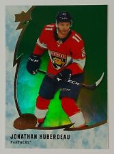 2019-20 Upper Deck Ice Hockey GREEN Parallel Panthers JONATHAN HUBERDEAU #24