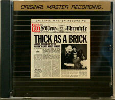 Jethro Tull - Thick As A Brick  MFSL Gold CD (Remastered)
