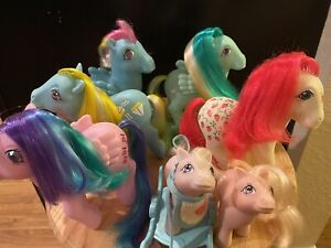 Lot My little pony g1 Whizzer Mainsail Braided Sugarberry Sweet Pop EXCELLENT