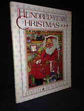 David Morrell THE HUNDRED-YEAR CHRISTMAS 1983 1st ed signed limited Krupowicz HB