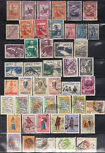 ANGOLA - PORTUGUESE COLONIES - VALUABLE COLLECTION II - ALL OLDER - LOOK!