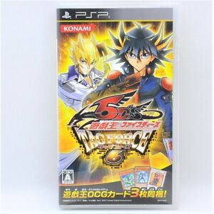 Yu-Gi-Oh! 5D's Tag Force 6 PSP Japan Import