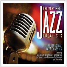 VERY BEST OF JAZZ VOCALIST 3 CD NEU BOX-SET BILLIE HOLIDAY/RAY CHARLES