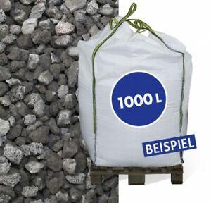 (0,24€/1l) Lava Mulch Anthrazit 8-16mm 1.000 l Big Bag Rindenmulch Boden Garten