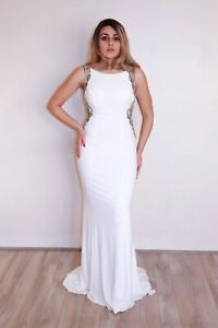 The Colors Dress : Jersey Style G885 Size 6 Color White