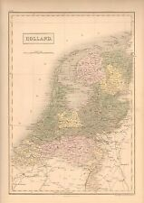 1850 ANTIQUE MAP- HOLLAND