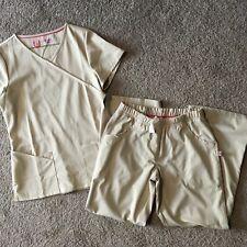 Woman's Sandstone Urbane Ultimate Scrub Set, Size Pxs/Xs