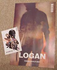 Marvel Logan & X-Men Apocalypse IMAX mini posters. Wolverine. Hugh Jackman