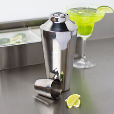 USA SELLER BAR COCKTAIL SHAKER SET 3 PC 16 OZ STAINLESS STEEL  FREE SHIP US ONLY