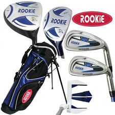 NEW JUNIOR GOLF SET 6 PCE for KIDS 4 to 7yrs WITH HYBRID and MATCHING GOLF BAG