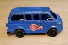 Vintage tootsietoy tootsie Toy Cherry Bomb Blue Chevrolet Chevy Van Toy Truck