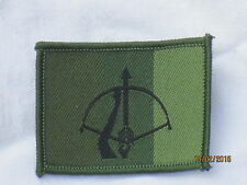 16th Air Defence reggimento, Royal Artillery, TRF, patch, distintivi, verde oliva, SUBDUED
