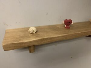 Solid Wood Oak Wall Shelf Handmade Offcuts