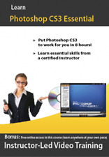 Learn Adobe Photoshop CS3 Video Training Tutorial