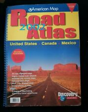 New ListingAmerican Map Discovery Channel Road Atlas 2002 United States Canada Mexico