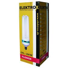 ELEKTROX 250-w 250 Watt ESL fioritura 2700k lampada a risparmio energetico CFL lampada piante