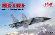 ICM 1/48 Mig-25PD Soviet Interceptor Fighter #48903 *New Release*sEALED*
