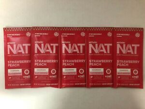 Pruvit Keto OS Nat Strawberry Peach (Charged) 5, 10 & 20 Packs  FREE SHIPPING