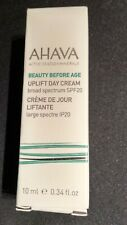 AHAVA UPLIFT DAY CREAM BROAD SPECTRUM SPF 20 - TRAVEL SIZE 10ml.