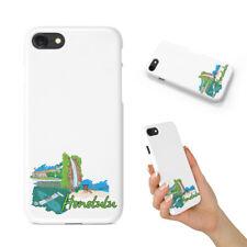 HONOLULU HAWAII BACK HARD CASE COVER FOR APPLE IPHONE