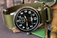 Vintage Mens watch POBEDA ZIM Commanders Mechanical Soviet watches /Gift