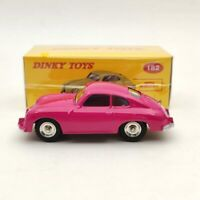 DeAgostini 1:43 Dinky Toys 182 Porsche 356A Coupe Pink Diecast Models Car
