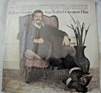 ROBERT GOULET SINGS TODAY'S GREATEST HITS VINYL LP ALBUM 1970 COLUMBIA RECORDS