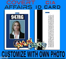 Covert Affairs Annie Walker Replica CIA PVC ID Card COSPLAY - Or Customise