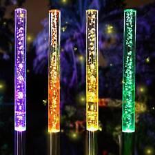 Solar Marienkäfer LED Wanddeko Gartendeko Dekolicht 2er Set Glücksbringer