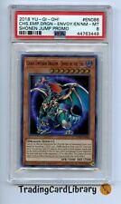 PSA 8 - Yugioh - Chaos Emperor Dragon - Envoy of The End - JUMP-EN086 - LIMITED