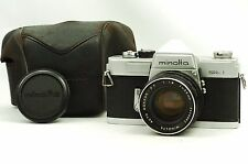 @ Ship in 24 Hours! @ Minolta SR-1 35mm Film SLR Camera Auto Rokkor-PF 55mm f1.8