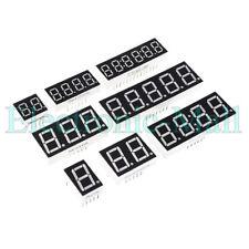4pcs 036 123456 Bits Clock Digit Led Display 7 Segment Red Cc Ca